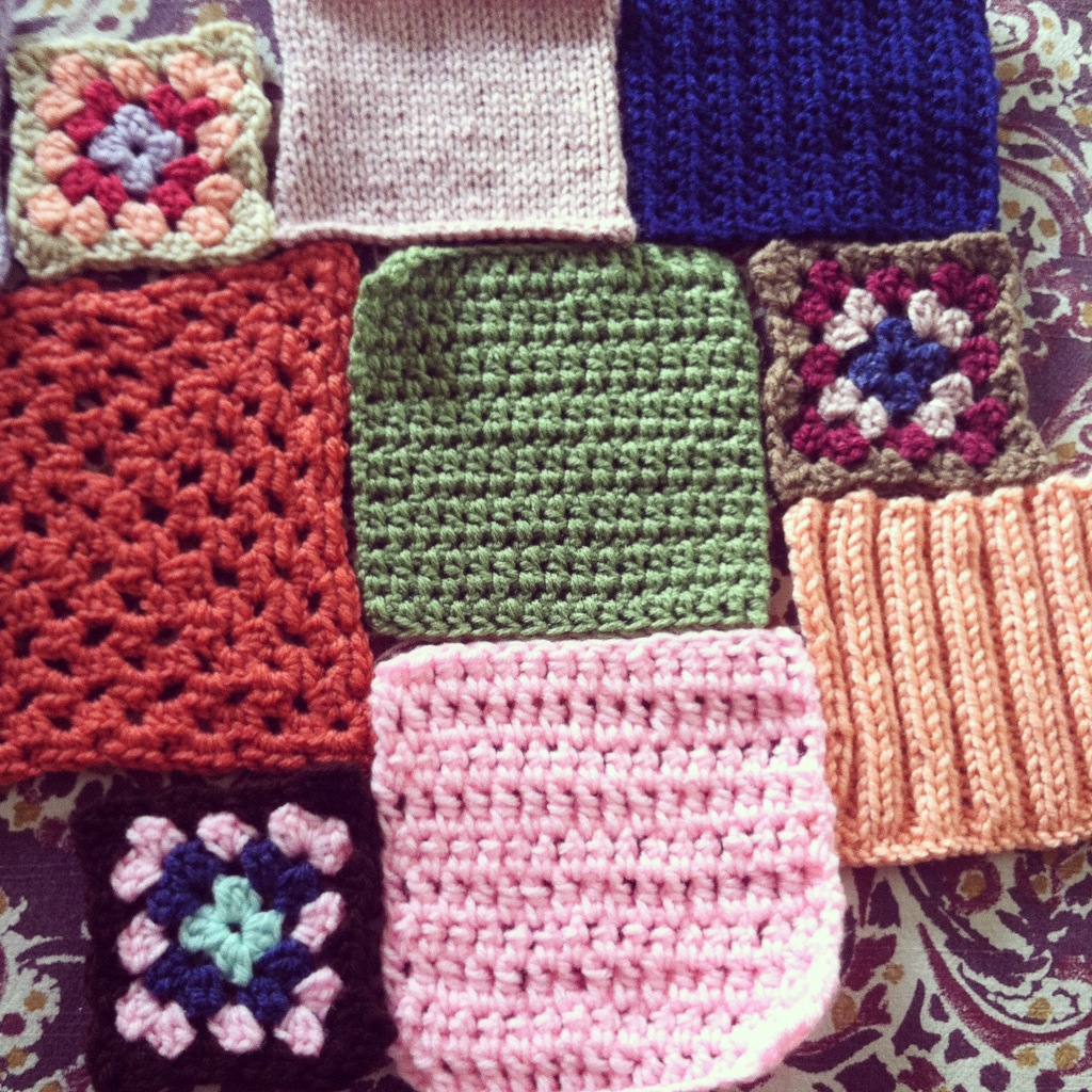 Agnes\' Knitted and Crocheted Blanket | NicoStuff.com